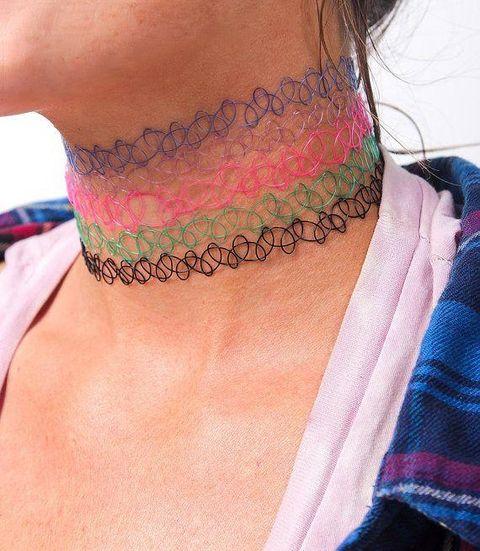 Skin, Shoulder, Joint, Purple, Magenta, Violet, Neck, Back, Muscle, Pattern,