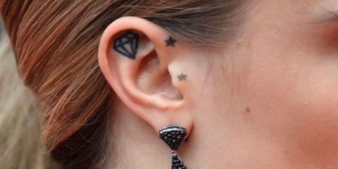 Inspiratie 13x Tattoos Op Je Oor