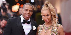 Beyoncé en Jay Z Met Gala 2015