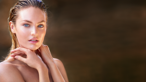 Biotherm Candice Swanepoel stralende huid healthy glow