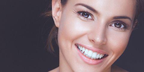 Nose, Smile, Lip, Mouth, Cheek, Hairstyle, Skin, Eye, Chin, Eyelash,