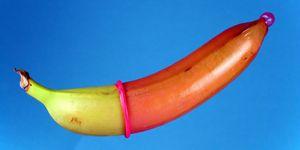 banaan condoom sex