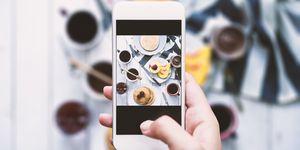 Instagram foto maken