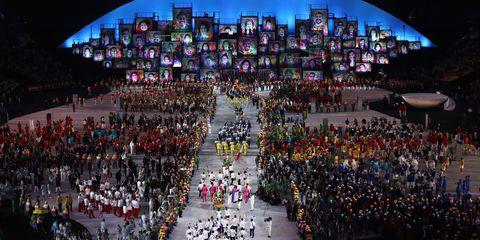 Openingsceremonie Olympische spelen rio 2016