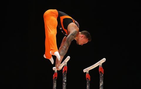 Bart Deurloo Olympische Spelen rio 2016 tattoo