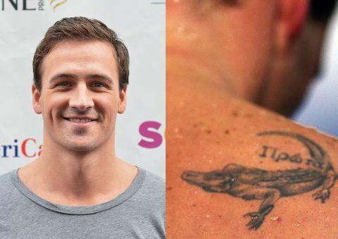 Ryan Lochte Tattoo