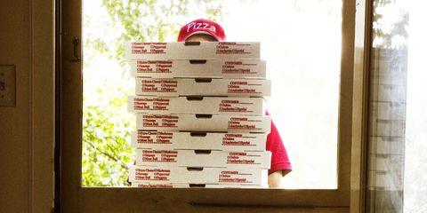 pizza bezorg