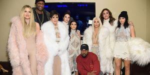 kardashians kerstfeest