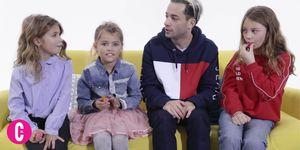 Kleine meisjes geven fantastisch liefdesadvies aan Valerio