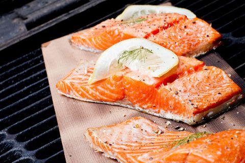 Cuisine, Orange, Food, Ingredient, Seafood, Lox, Salmon, Fish slice, Fish, Dish,