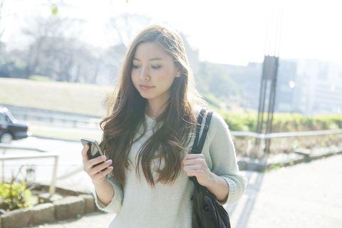 Hair, Photograph, Beauty, Lip, Street fashion, Skin, Hairstyle, Snapshot, Long hair, Fashion,