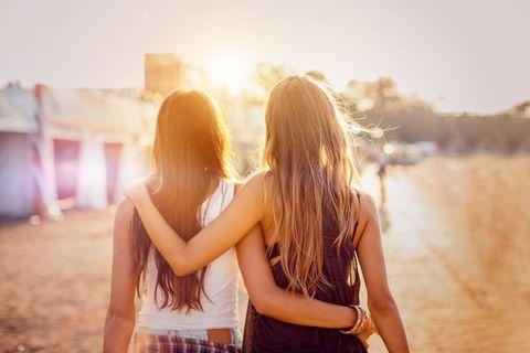 festival met vriendinnen