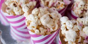 Hema popcorn met tompouce smaak