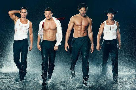 Human body, Standing, Chest, Barechested, Denim, Abdomen, Trunk, Waist, Muscle, Black hair,