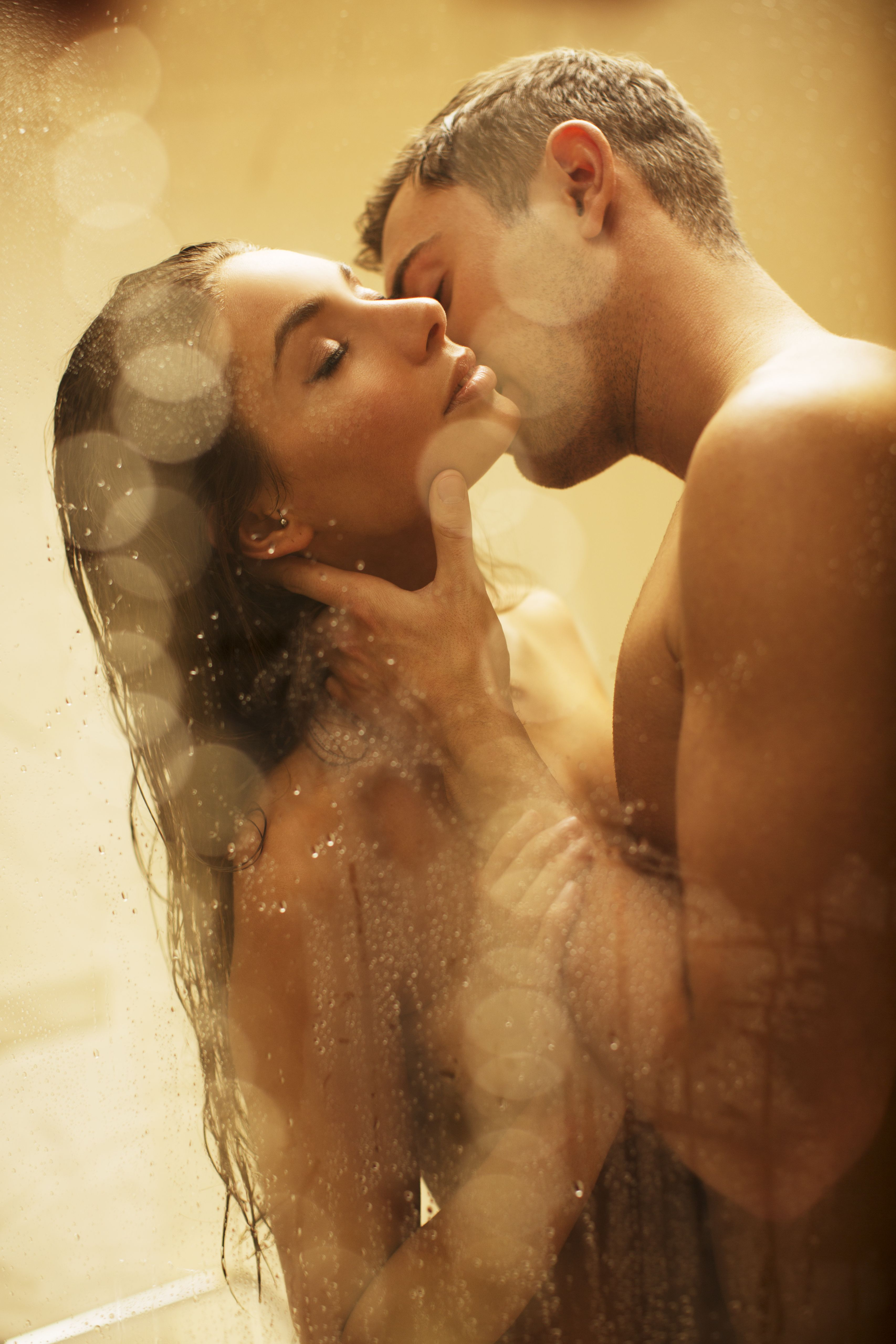 Horny Foreplay Shower Bath