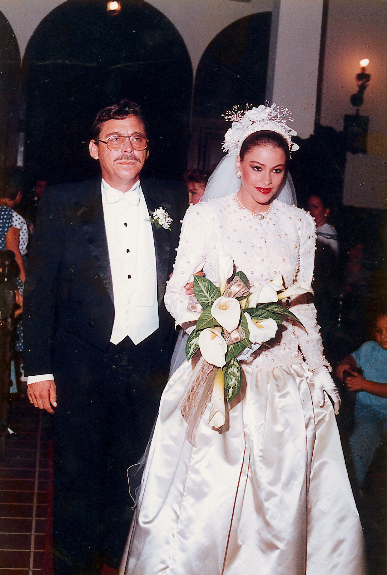 ca576778502 Amazing Photos of Sofia Vergara's Teenage Wedding Prove She Doesn't Age