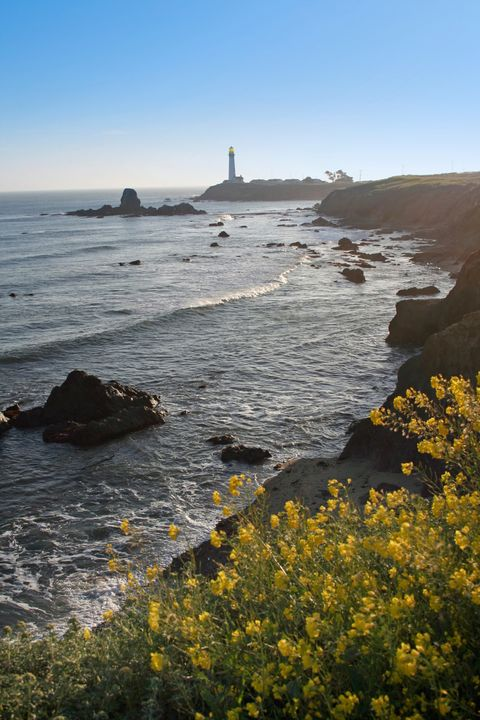 Coastal and oceanic landforms, Coast, Shore, Tower, Rock, Ocean, Sea, Beacon, Beach, Promontory,