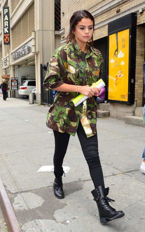 Clothing, Footwear, Textile, Outerwear, Street fashion, Style, Street, Pattern, Bag, Boot,