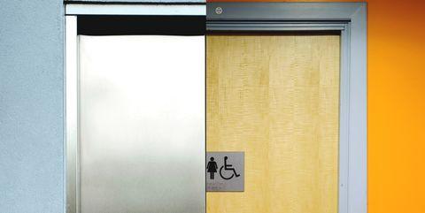 Elevator-bathroom