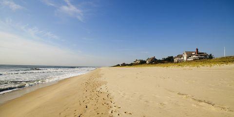 Coastal and oceanic landforms, Shore, Natural environment, Coast, Sand, Landscape, Horizon, Beach, Fluid, Ocean,