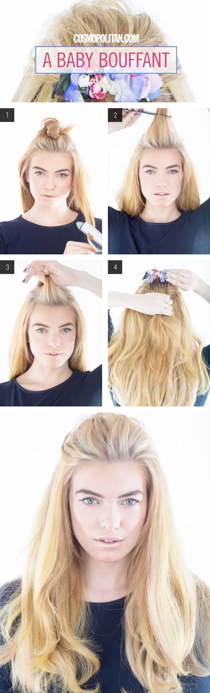 Hair How To A Baby Bouffant