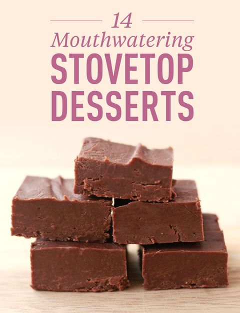 dessert recipes on stove top Stovetop Desserts - 2 Mouthwatering Stovetop Desserts