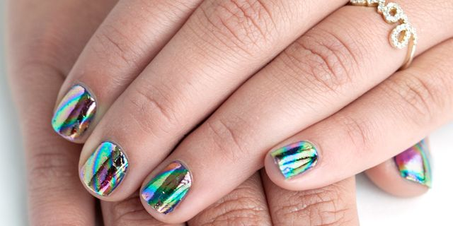 Nail Art How To Fancy Foiled Fingertips