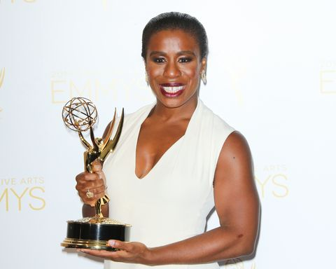 Orange Is the New Black's Uzo Aduba Won an Emmy and Broke Down in Tears