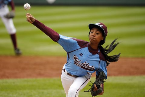 13-Year-Old Girl Makes Little League History