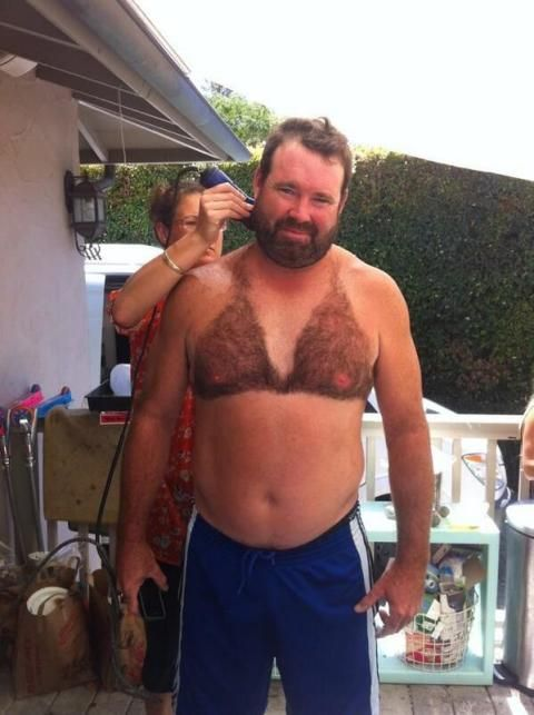 7a6040ae1d Men Are Taking Grooming to a Ridiculous Place With Chest Hair Bikinis