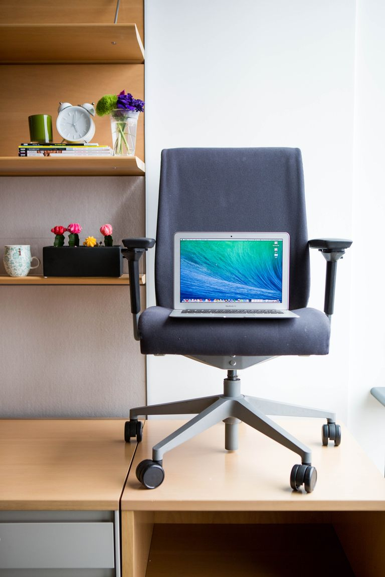 A chair (or your desk chair?)