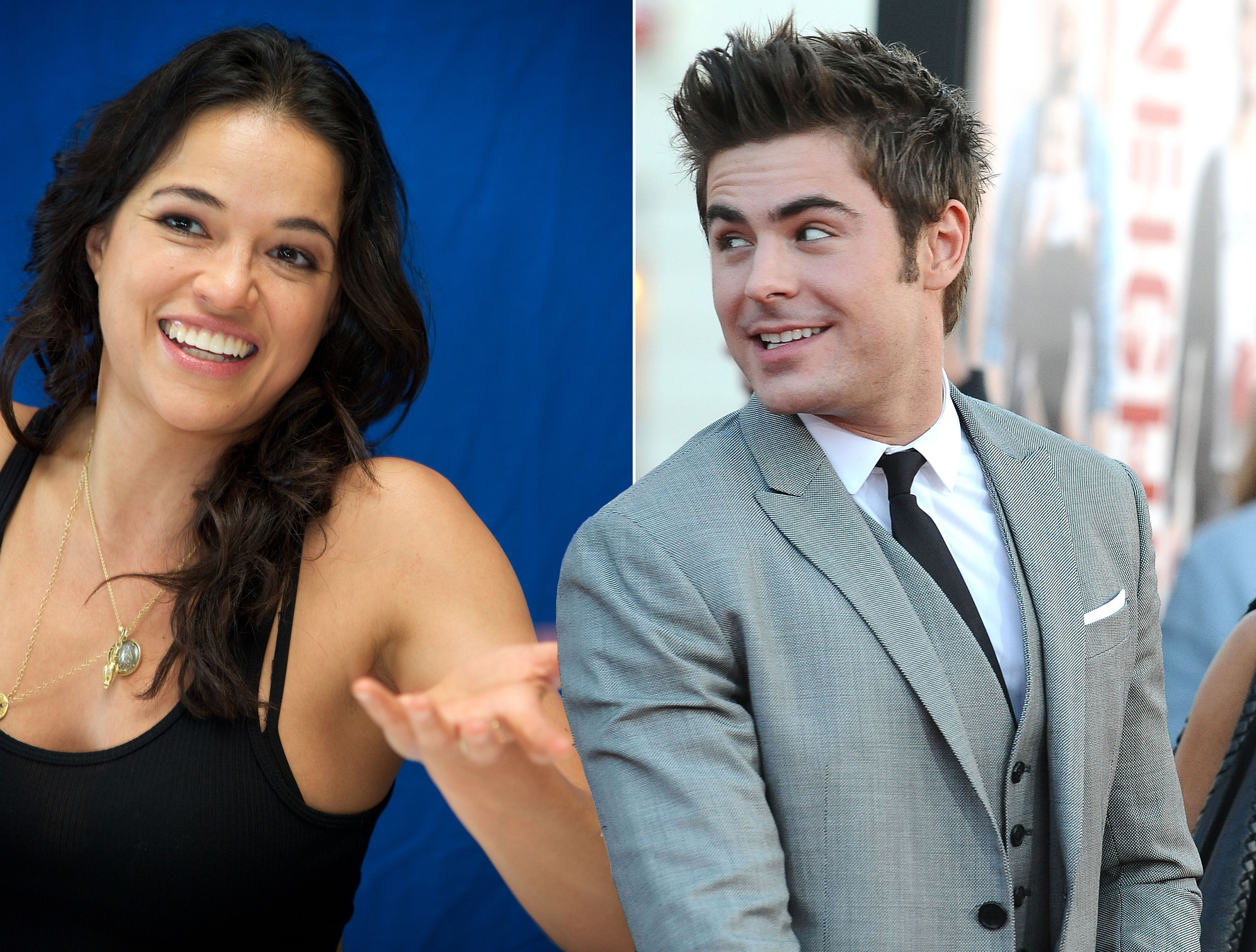 Michelle Rodriguez And Zac Efron Broke Up