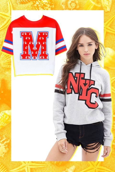 Sports uniform, Jersey, Sportswear, Yellow, Sleeve, Shoulder, White, Uniform, Red, T-shirt,