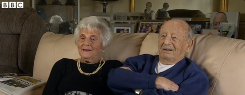 Seriously Adorable Old Couple Reveals the Secret to 80 Years of Happy Marriage
