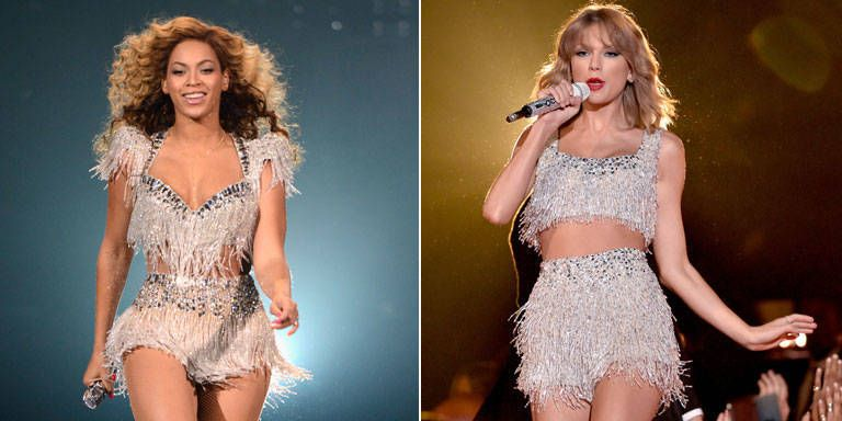 Beyoncé Wore Taylor Swift's VMAs Outfit in 2012