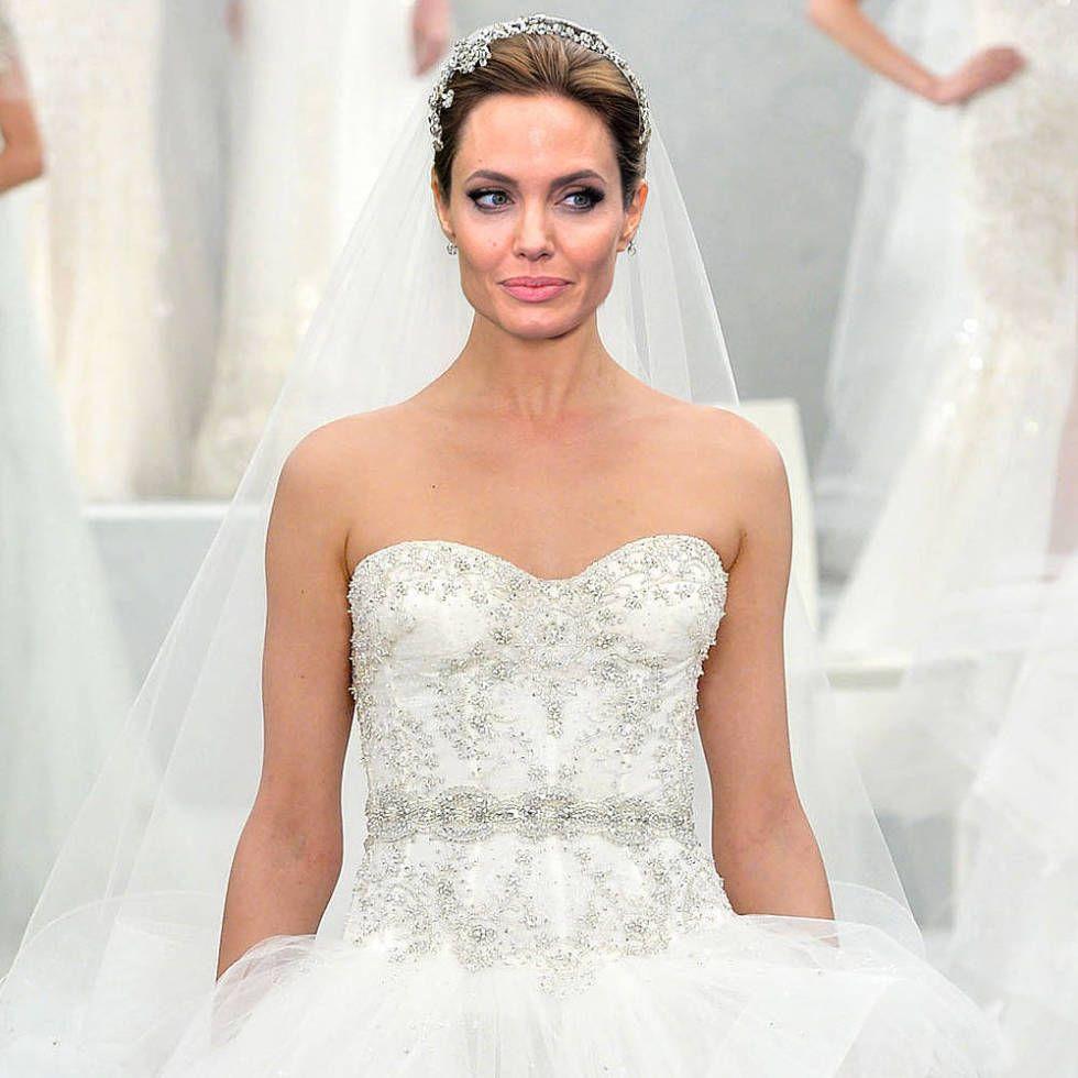 angelina jolie and brad pitt wedding dress wwwpixshark