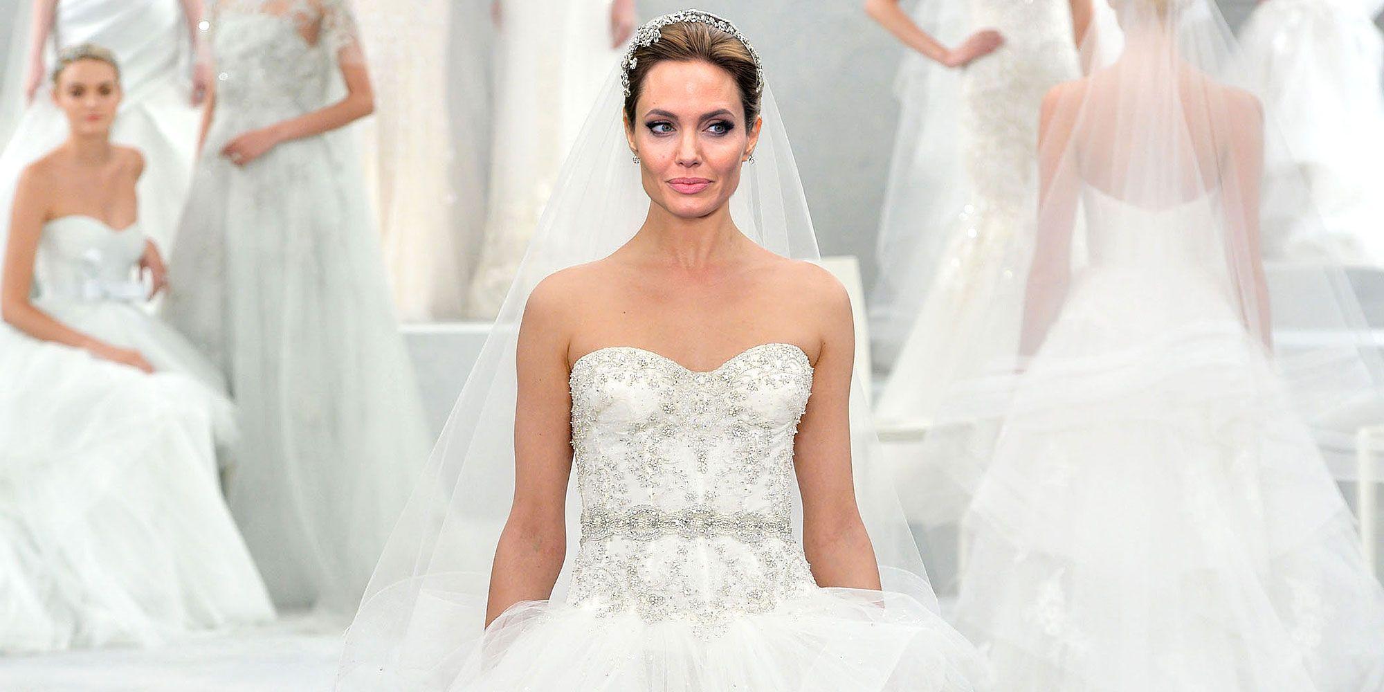 angelina jolie wedding dress | Wedding
