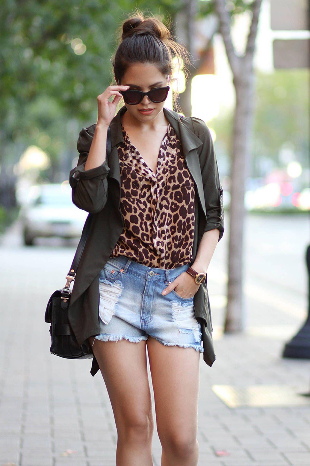 5 Ways To Wear Leopard Print