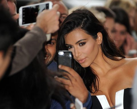 Kim Kardashian feels victimized.