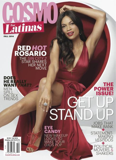 Go Behind the Scenes with Rosario Dawson and Cosmo for Latinas