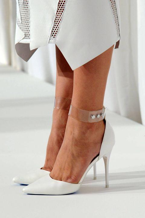 Joint, White, High heels, Fashion, Foot, Tan, Sandal, Waist, Beige, Ivory,