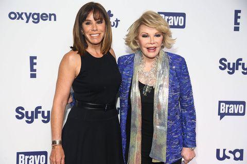 Joan and Melissa