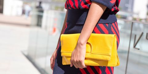 Bag, Street fashion, Fashion, Pattern, Electric blue, Luggage and bags, Waist, Shoulder bag, Plaid,