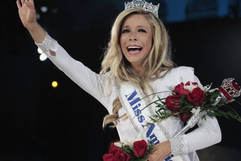 Miss New York crowned Miss America.