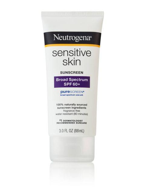 e8eda8df1 Neutrogena Sensitive Skin Sunscreen Lotion Broad Spectrum SPF 60+. image