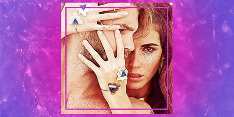 Finger, Skin, Wrist, Purple, Violet, Magenta, Eyelash, Organ, Nail, Colorfulness,