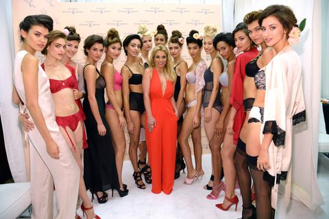 Britney Spears' lingerie collection.
