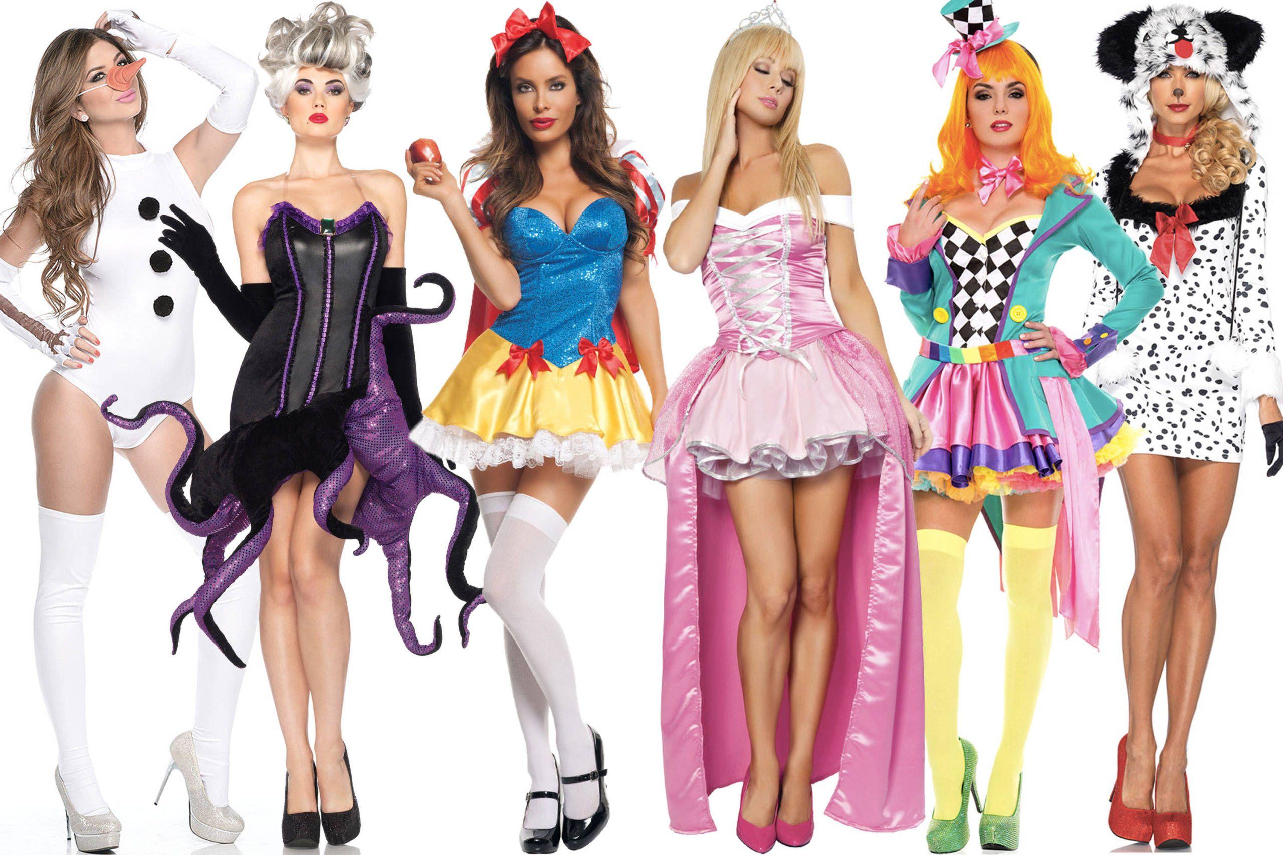 Adult sexy disney costumes