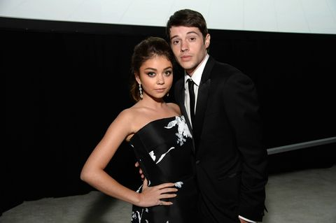 Sarah Hyland takes out a restraining order against her ex.