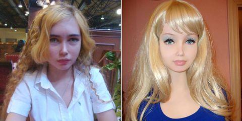 Teen Human Barbie